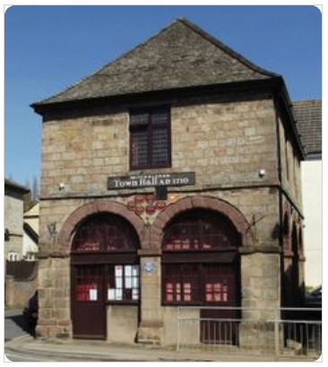 Mitcheldean Town Hall built 1710